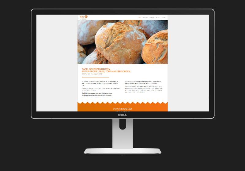 Neue Website, Tafel Schrobenhausen