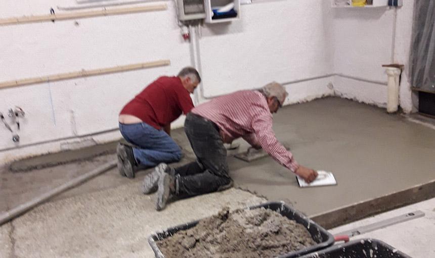 Renovierungen in der Tafel Schrobenhausen